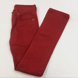 J Brand 30 Kane Slim Straight Craft Buoy Jeans